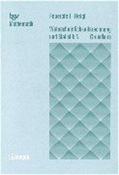 Wahrscheinlichkeitsrechnung und Statistik N  Grundkurs  Lösungen - Coverbild