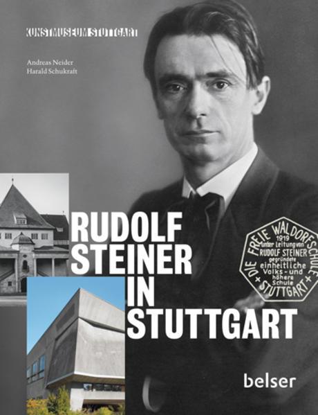 Rudolf Steiner in Stuttgart - Coverbild