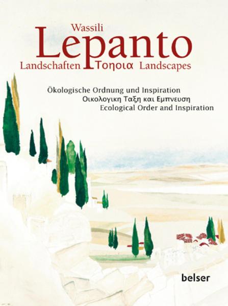 Wassili Lepanto. Landschaften - Coverbild