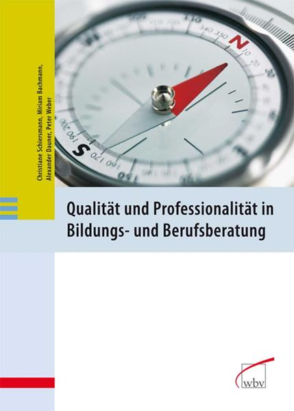 Qualität und Professionalität in Bildungs- und Berufsberatung - Coverbild