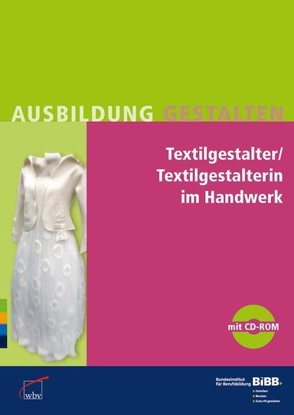 Textilgestalter/Textilgestalterin im Handwerk mit CD - Coverbild