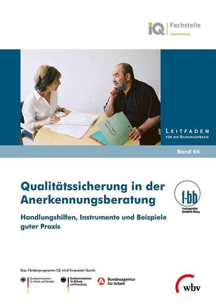 Qualitätssicherung in der Anerkennungsberatung - Coverbild