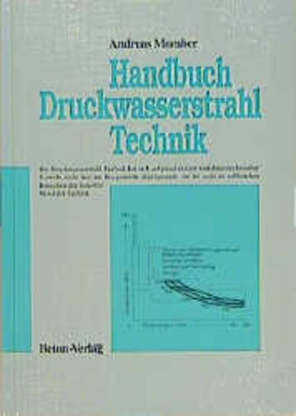 Handbuch Druckwasserstrahl-Technik - Coverbild