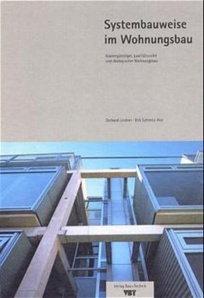 Systembauweise im Wohnungsbau - Coverbild