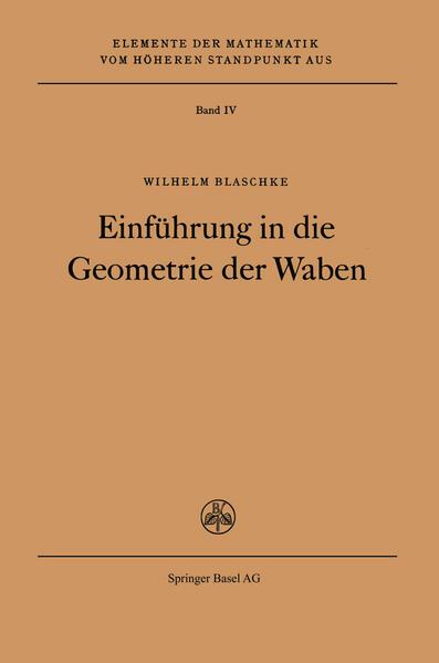 Einführung in die Geometrie der Waben - Coverbild