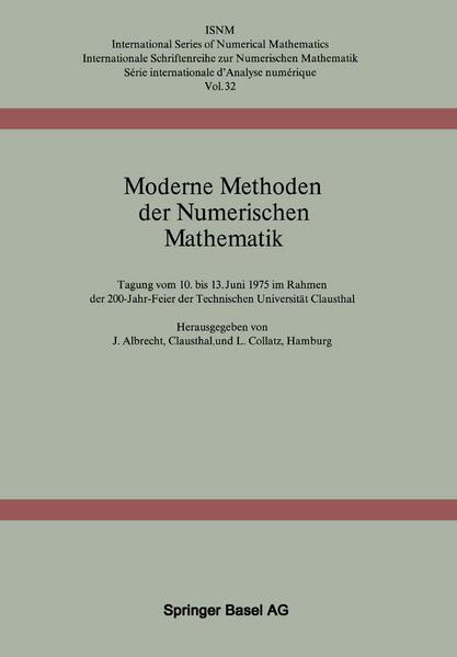 Moderne Methoden der Numerischen Mathematik - Coverbild