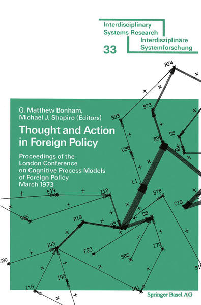 Thought and Action in Foreign Policy - Coverbild