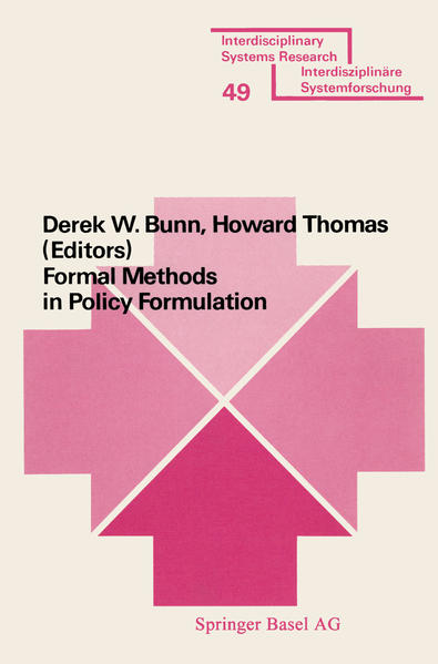 Formal Methods in Policy Formulation - Coverbild