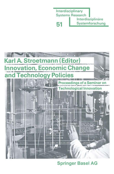 Innovation, Economic Change and Technology Policies - Coverbild
