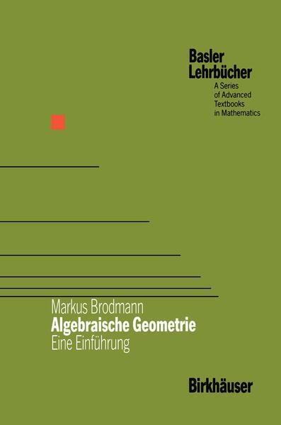 Algebraische Geometrie - Coverbild