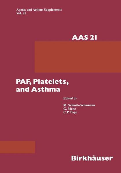 Paf, Platelets, and Asthma - Coverbild