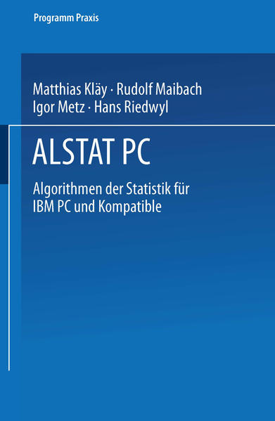 ALSTAT PC - Coverbild