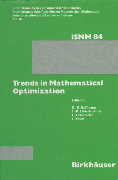 Trends in Mathematical Optimization - Coverbild