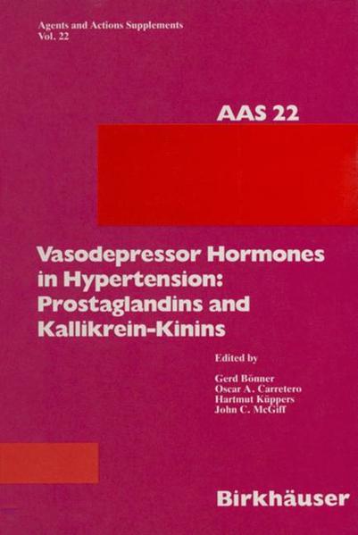 Vasodepressor Hormones in Hypertension - Coverbild