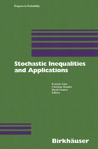 Stochastic Inequalities and Applications - Coverbild