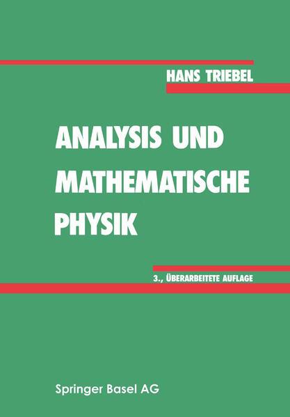 Analysis und mathematische Physik - Coverbild