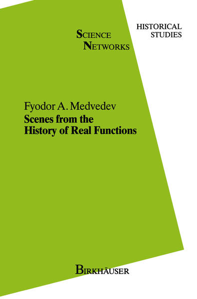 Scenes from the History of Real Functions - Coverbild