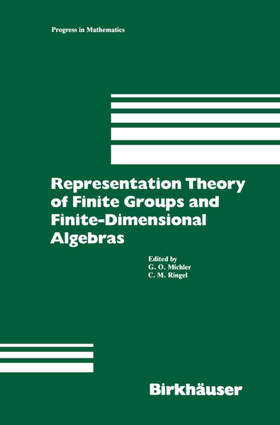 Representation Theory of Finite Groups and Finite-Dimensional Algebras - Coverbild