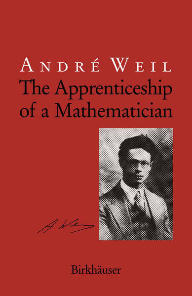 The Apprenticeship of a Mathematician - Coverbild