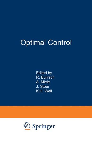 Optimal Control - Coverbild