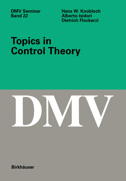 Topics in Control Theory - Coverbild