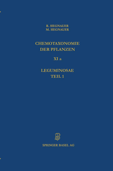 Chemotaxonomie der Pflanzen - Coverbild