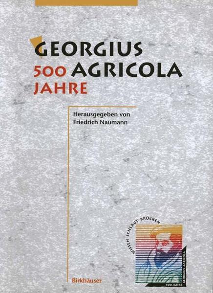Georgius Agricola - 500 Jahre - Coverbild