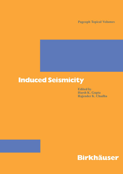 Induced Seismicity - Coverbild