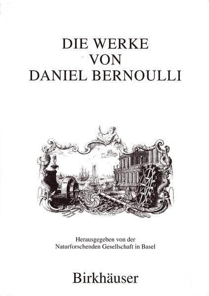 Die Werke von Daniel Bernoulli - Coverbild