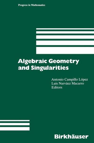 Algebraic Geometry and Singularities - Coverbild