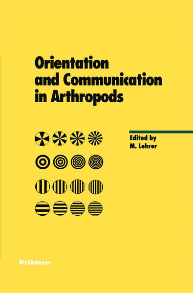 Orientation and Communication in Arthropods - Coverbild