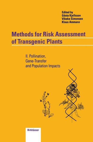 Methods for Risk Assessment of Transgenic Plants - Coverbild