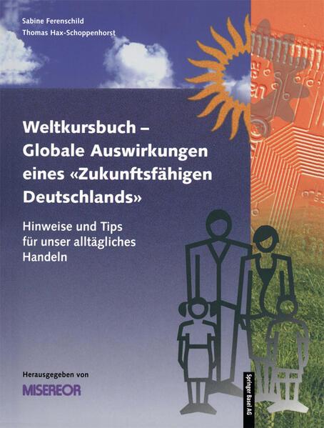 """Weltkursbuch-Globale Auswirkungen eines """"Zukunftsfähigen Deutschlands"""" - Coverbild"""