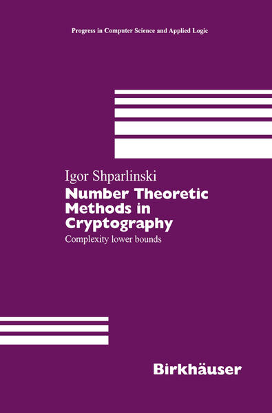 Number Theoretic Methods in Cryptography - Coverbild