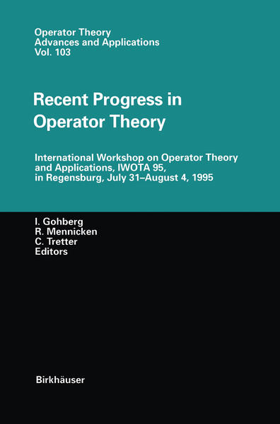 Recent Progress in Operator Theory - Coverbild