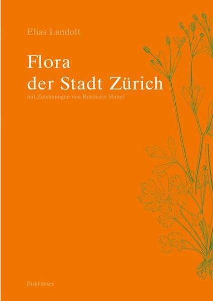 Flora der Stadt Zürich - Coverbild