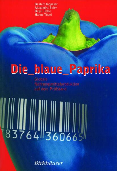 Die blaue Paprika - Coverbild