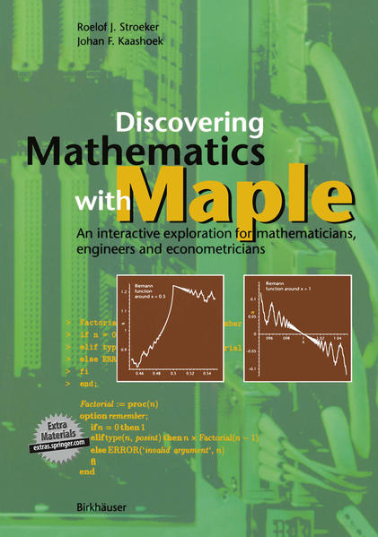 Discovering Mathematics with Maple - Coverbild