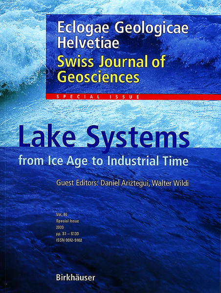 Lake Systems from the Ice Age to Industrial Time - Coverbild