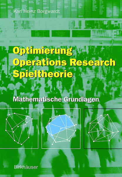 Optimierung Operations Research Spieltheorie - Coverbild