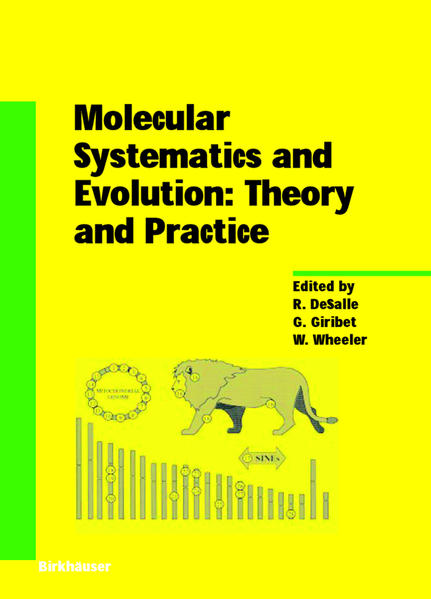 Molecular Systematics and Evolution: Theory and Practice - Coverbild