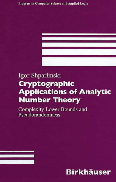 Cryptographic Applications of Analytic Number Theory - Coverbild