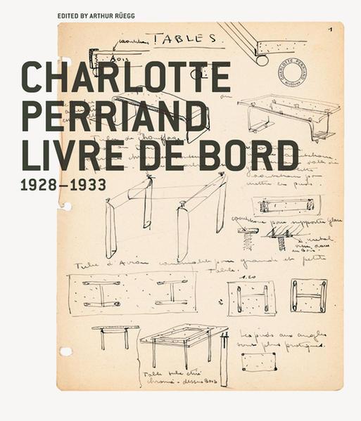 Charlotte Perriand, Livre de Bord 1928-1933 - Coverbild