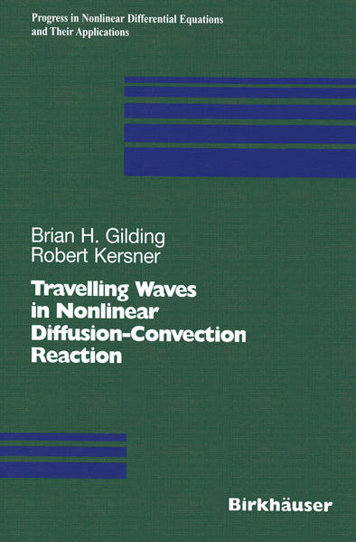 Travelling Waves in Nonlinear Diffusion-Convection Reaction - Coverbild