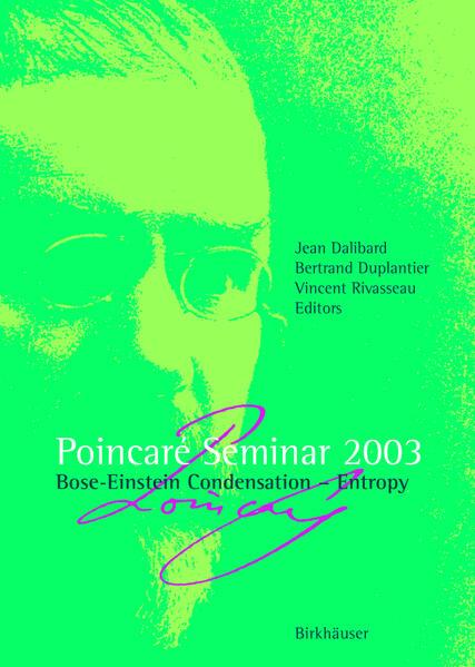 Poincaré Seminar 2003 - Coverbild
