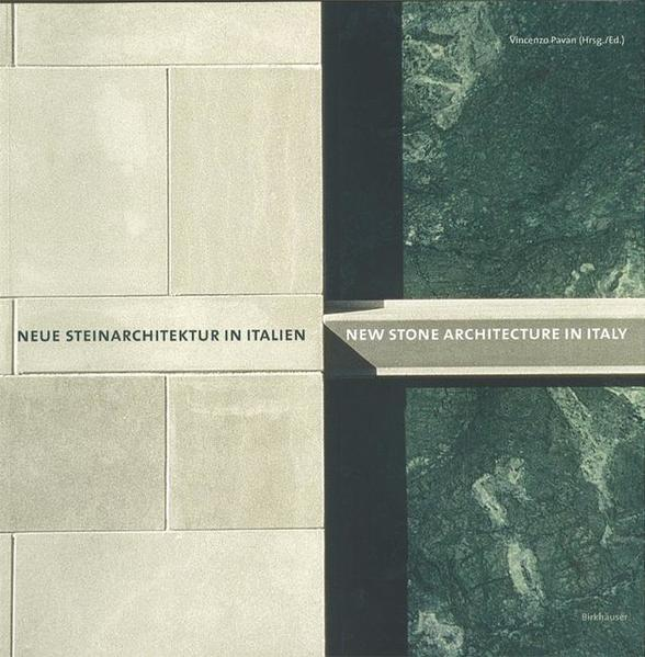 Neue Steinarchitektur in Italien / New Stone Architecture in Italy - Coverbild