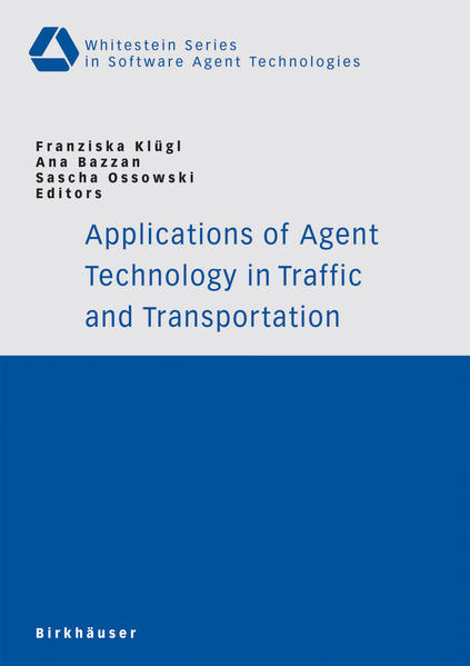 Applications of Agent Technology in Traffic and Transportation - Coverbild