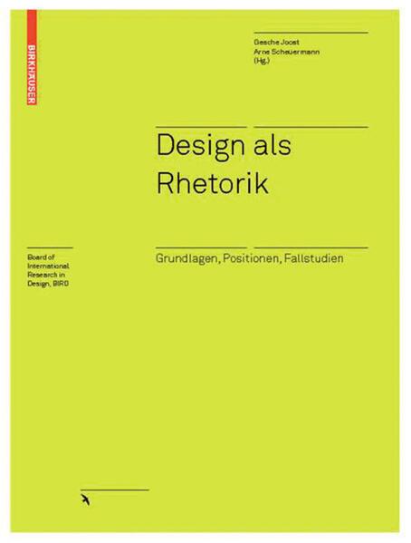 Design als Rhetorik - Coverbild