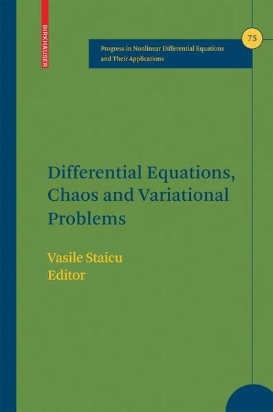 Differential Equations, Chaos and Variational Problems - Coverbild