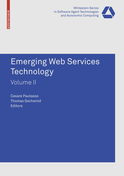 Emerging Web Services Technology, Volume II - Coverbild